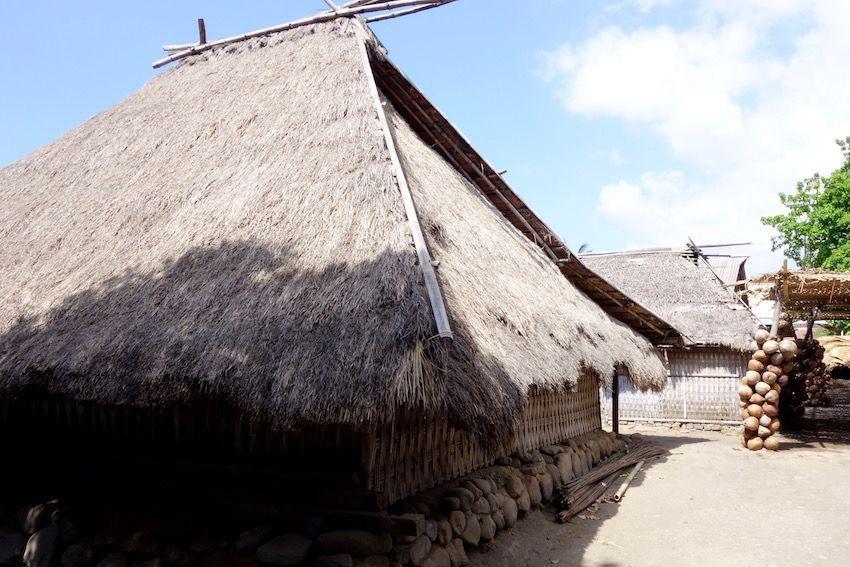 Casa tradicional Sasak (Lombok)