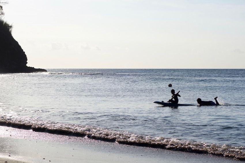 Playa del noroeste de Lombok