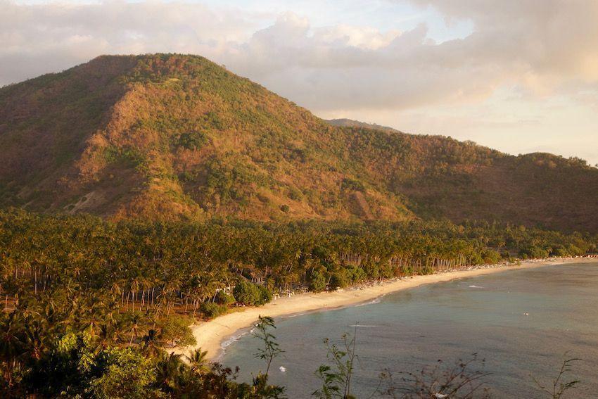 Atardecer desde Malimbu Hill (Lombok)