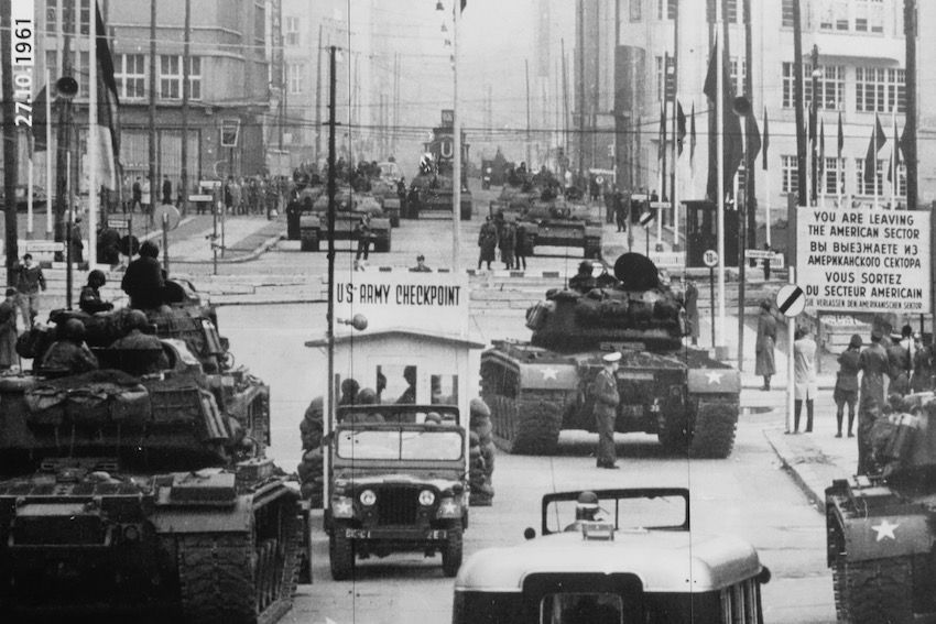 Check Point Charlie en 1961