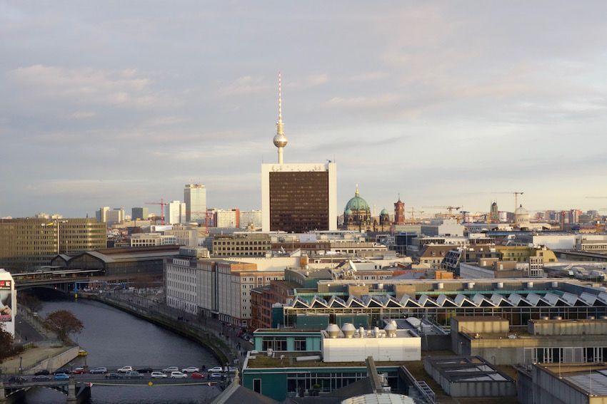Berlín desde la Cúpula del Parlamento