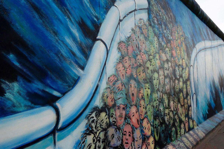 Muro de Berlín (East side gallery)