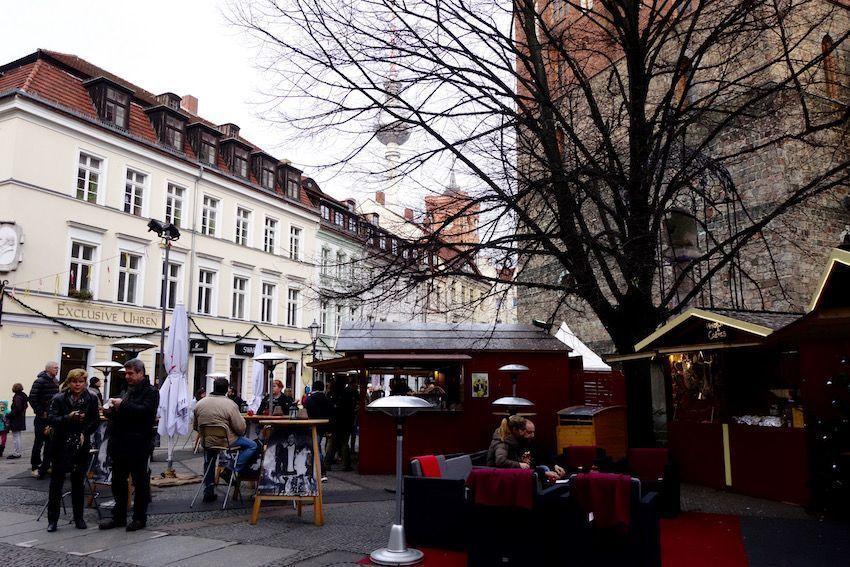 Mercado de Navidad en Nikolaiviertel