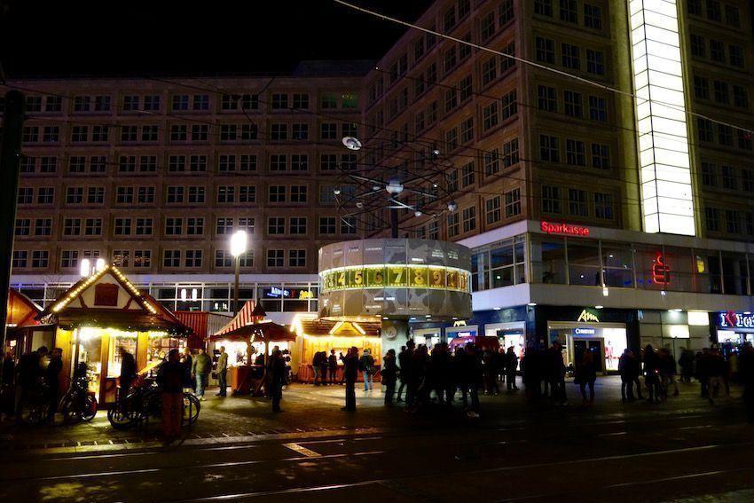 Mercado de Navidad en Alexanderplatz