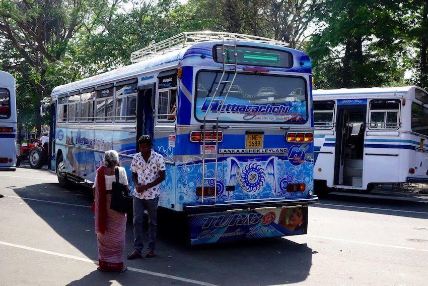 Bus de Sri Lanka