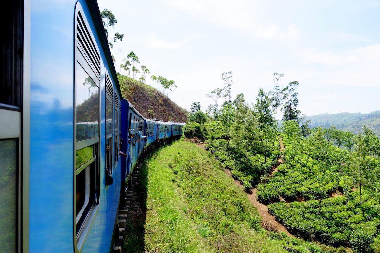 Tren en Sri Lanka