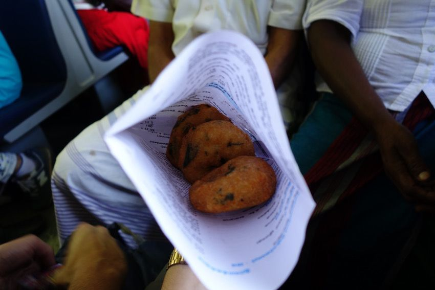 Uludhu Vadai - Short Eat típico de Sri Lanka