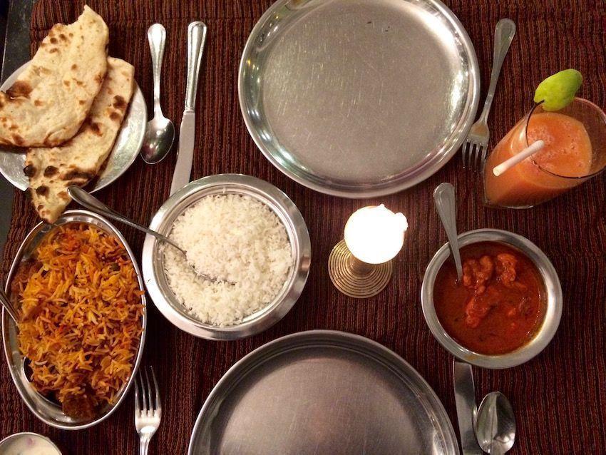 Cena en el Gran India - Nuwara Eliya (Sri Lanka)