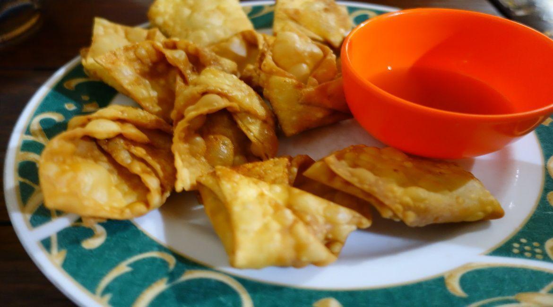 Dumplings fritos