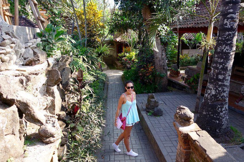 Jardines del Palacio de Ubud