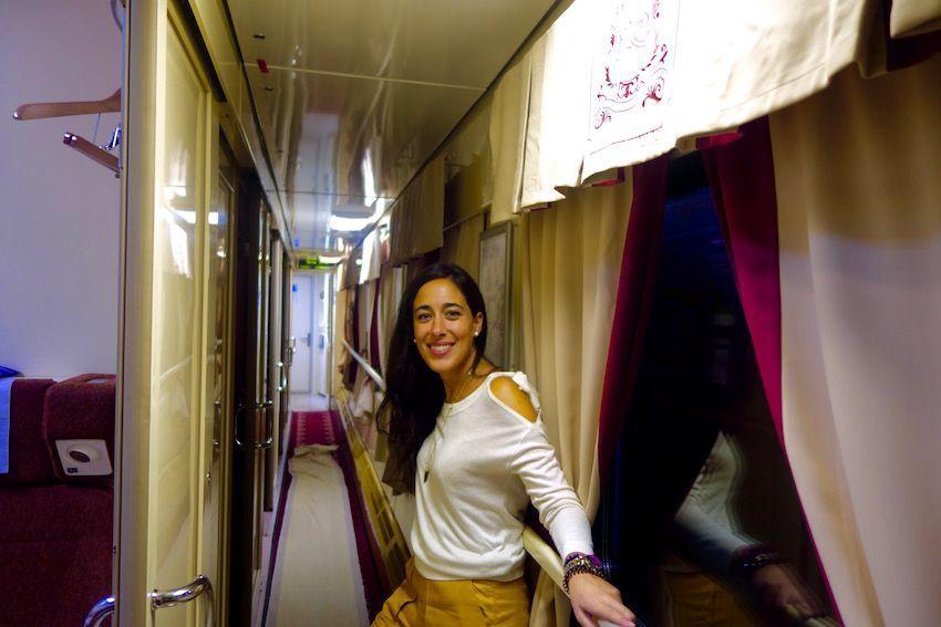 Viajar en el Tren Flecha Roja
