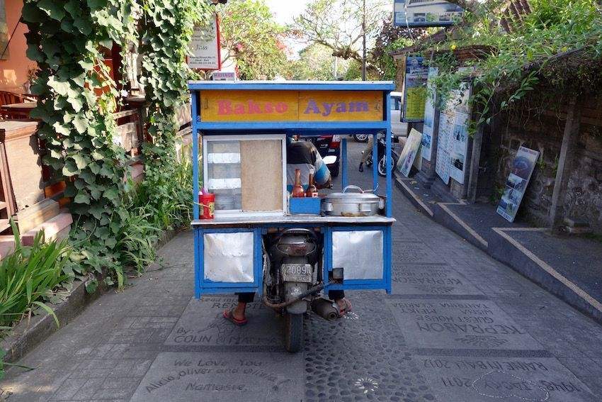 Calles de Ubud - Bakso, la comida callejera por excelencia en Indonesia