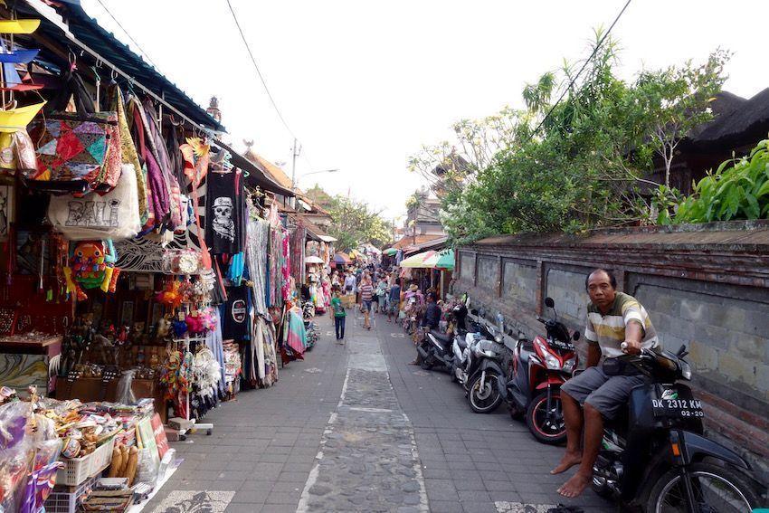 Compras en Ubud
