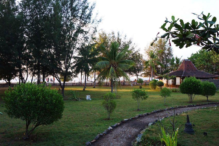 Nuestro hotel en Gili T