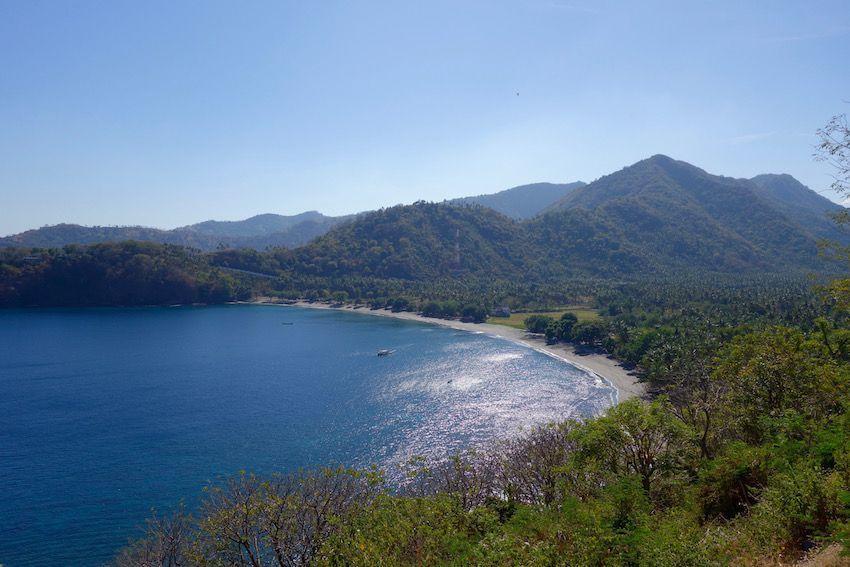 Playas de Lombok vistas desde Mailmbu Hill