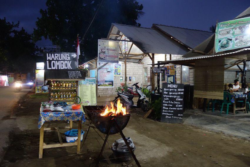 Restaurantes en Kuta (Lombok)