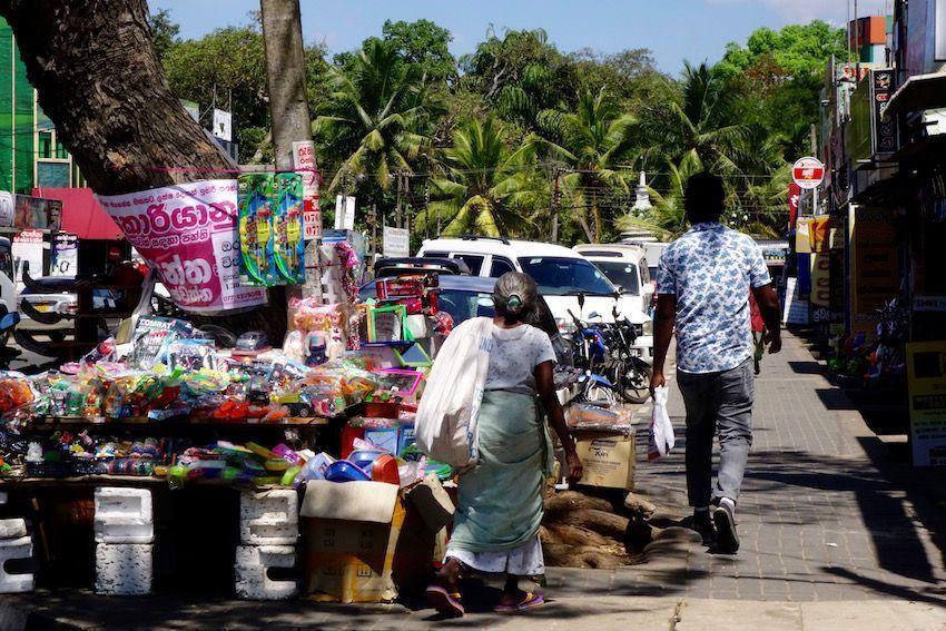 Calles de Anuradhapura