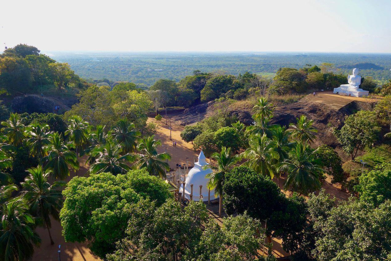 Vistas en Mihintale - Sri Lanka