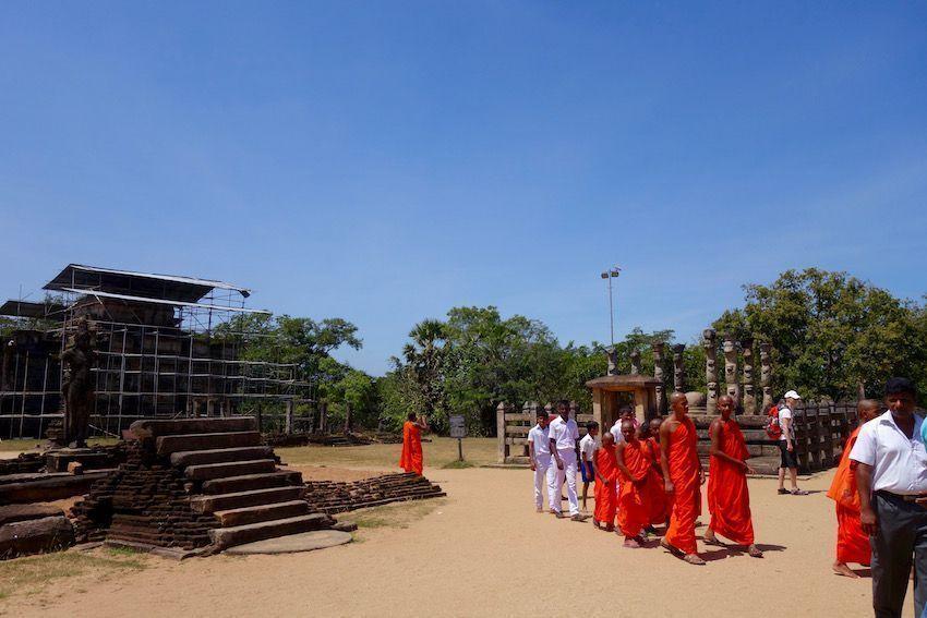 El Cuadrángulo - Polonnaruwa (Sri Lanka)