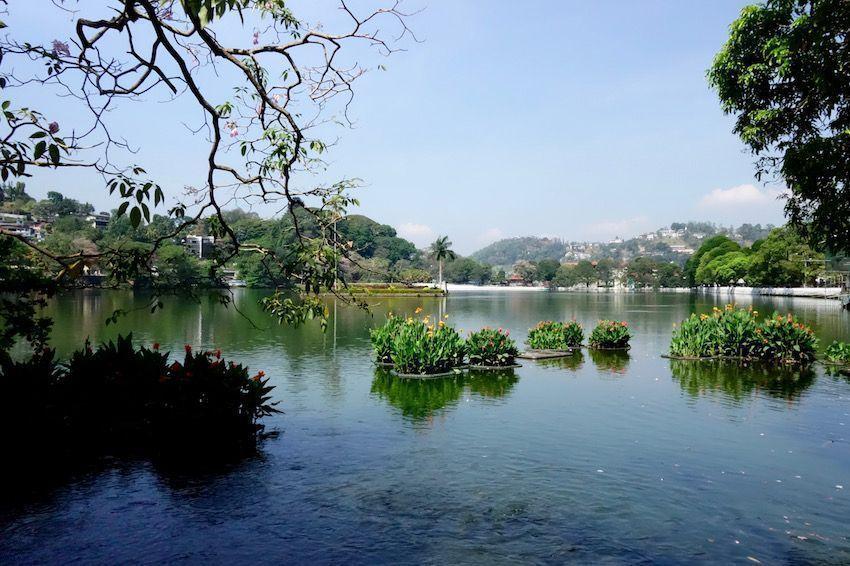 Lago de Kandy - Sri Lanka