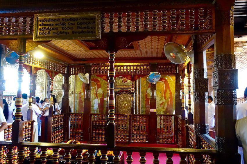 Templo del Diente de Buda - Kandy
