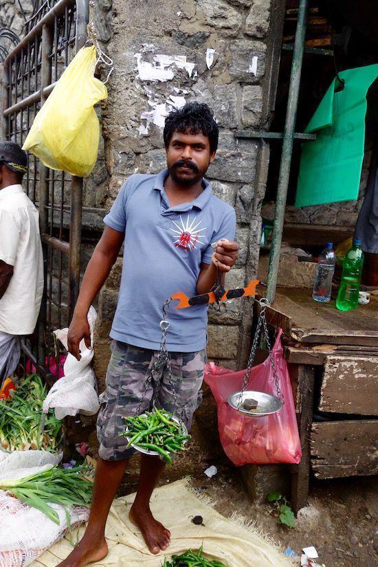 Mercado local de Kandy