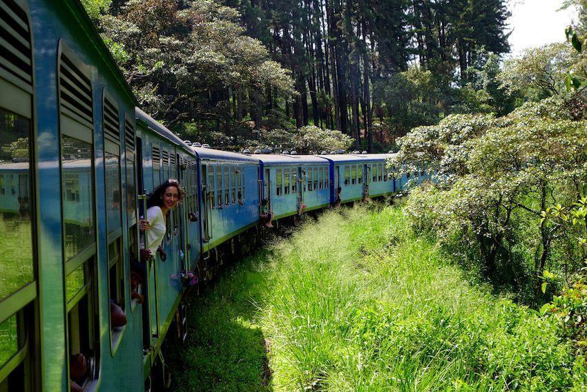 Tren desde Kandy a Nuwara Eliya