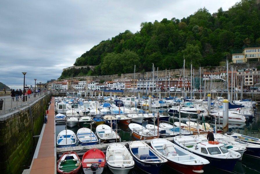Puerto pesquero de San Sebastián