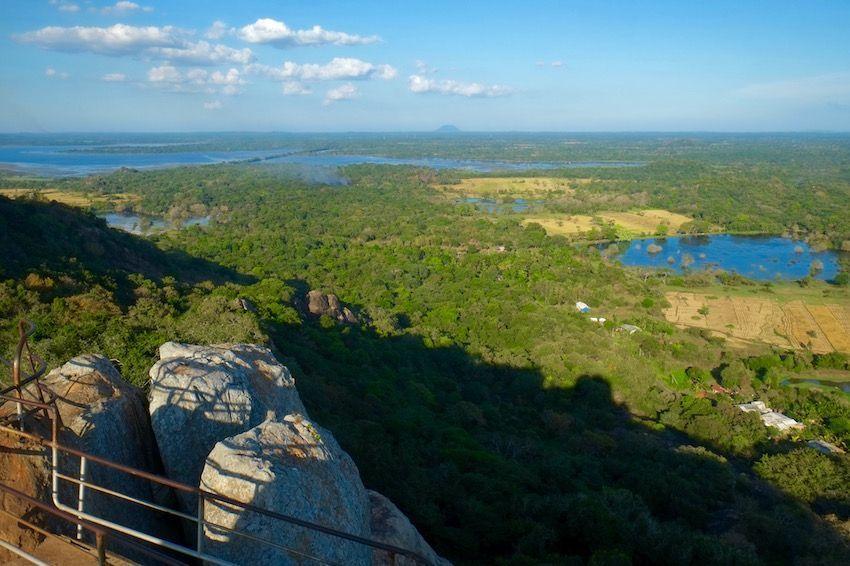Vistas desde Mihintale  -Sri Lanka