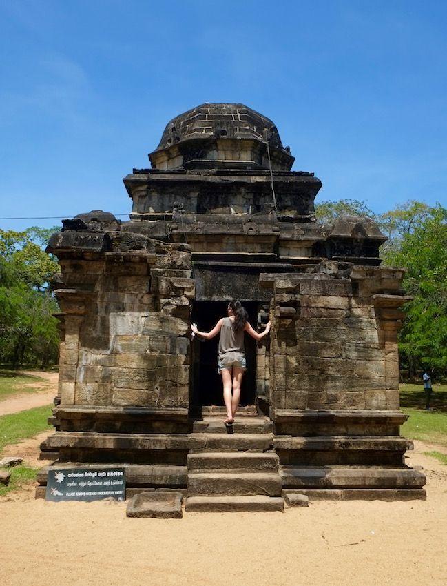 Vishnu Devalue - Polonnaruwa