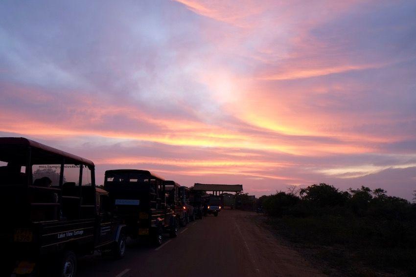 A las puertas del Parque Nacional de Yala