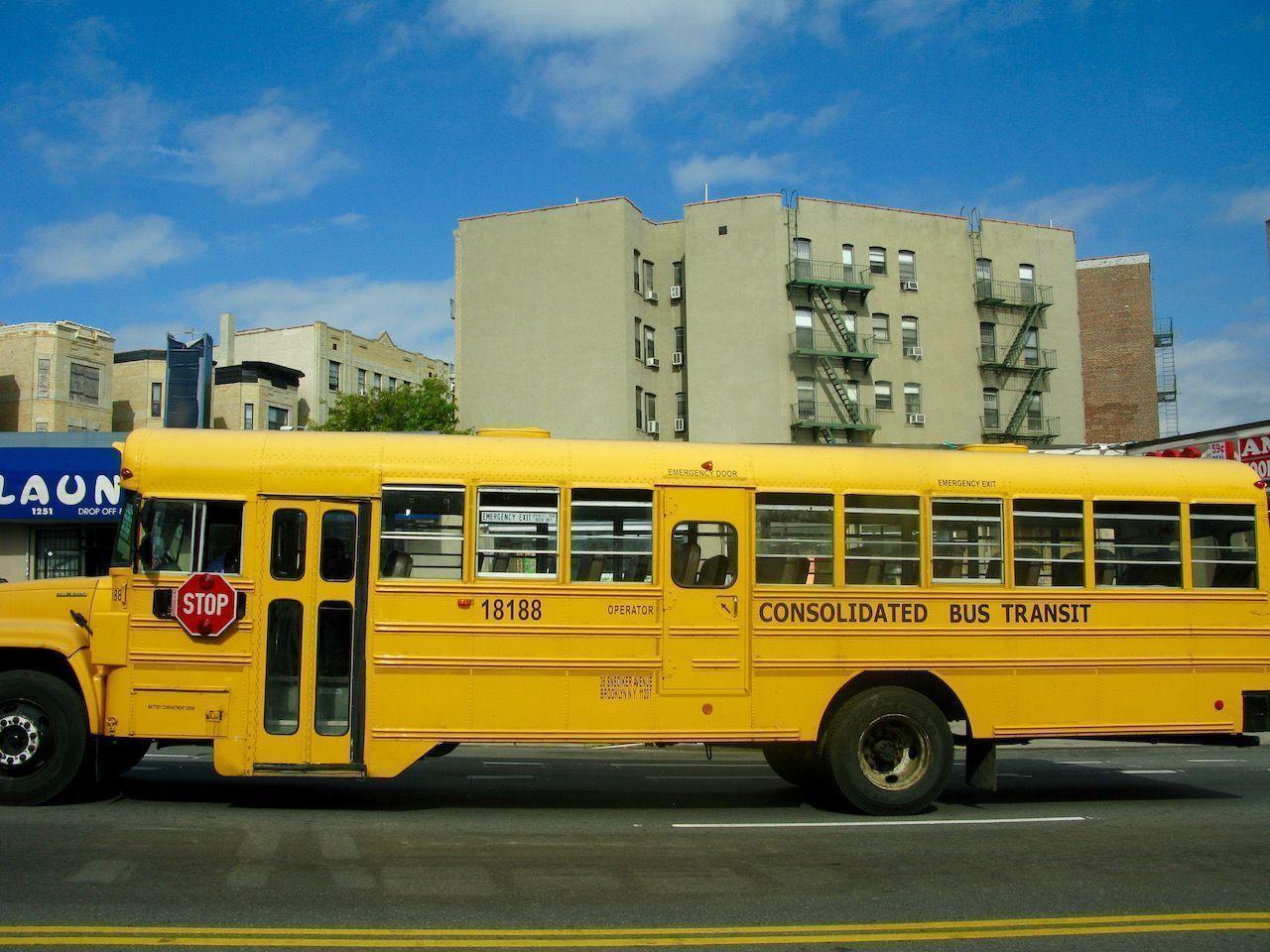 Bus escolar del Bronx