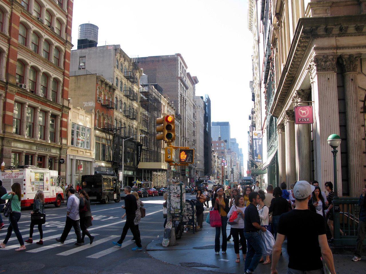 Broadway - entrando en Soho
