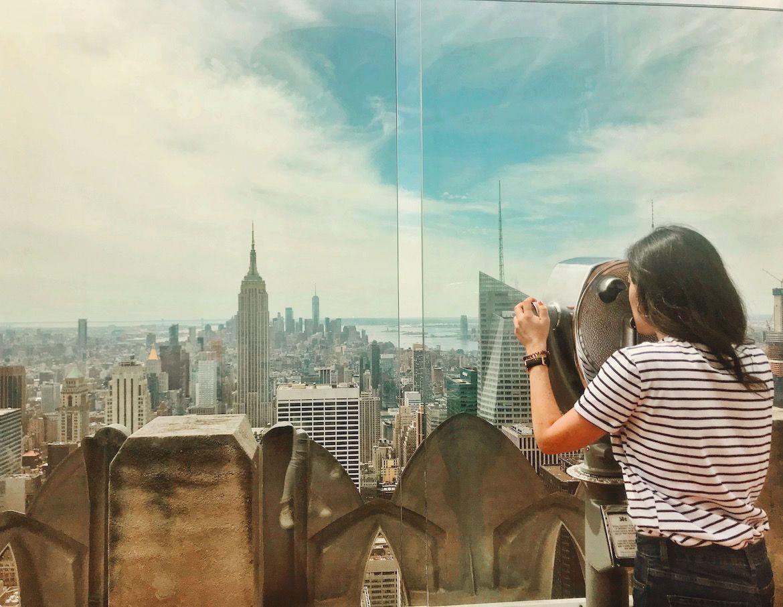 Vistas desde el Top of the Rock (Nueva York)