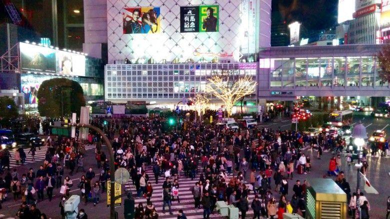 Cruce de Shibuya (centro de Tokio)