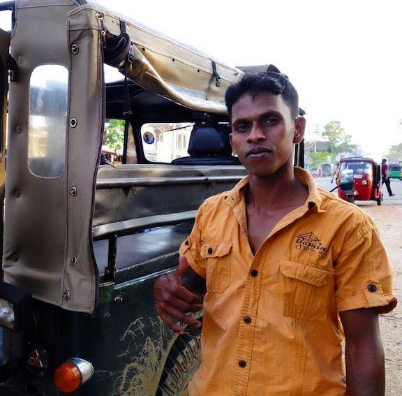 Nuestro conductor del jeep