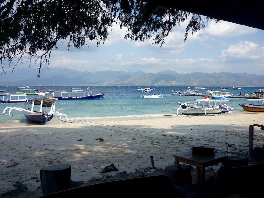 Barca de Gili T a Lombok
