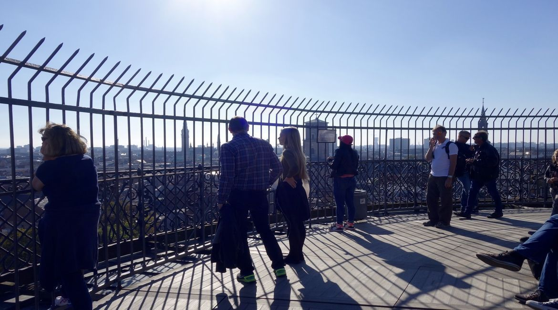 Vistas desde la Torre Redonda