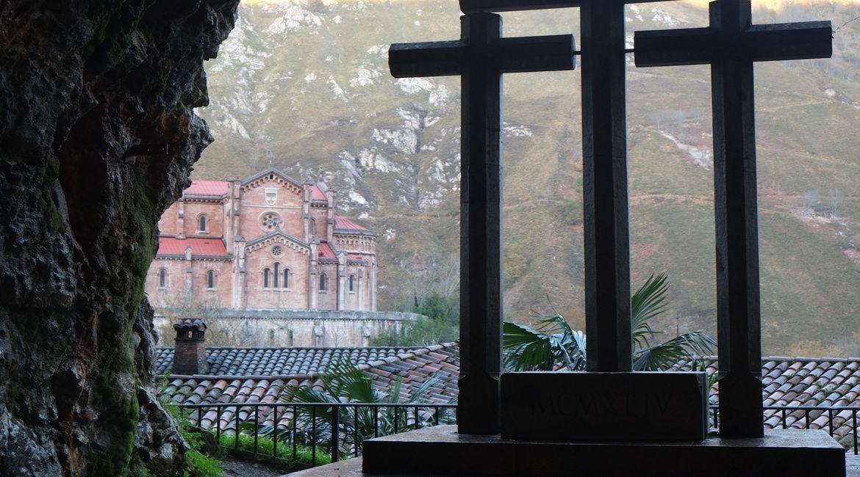 Vistas del Santuario desde la ermita
